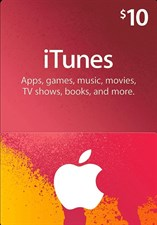 iTUNES USD10 GIFT CARD (US)