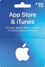 iTUNES USD15 GIFT CARD (US)