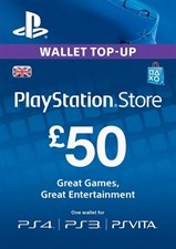 GBP50 PSN CARD (UK)