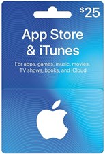 iTUNES USD25 GIFT CARD (US)