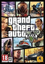Grand Theft Auto 5 PC Standard Online Edition (GTA 5) (Digital Code)