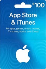 iTUNES USD100 GIFT CARD (US)