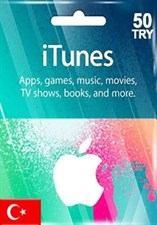 ITUNES TL50 GIFT CARD (Turkish)