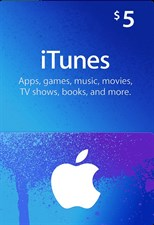 iTUNES USD5 GIFT CARD (US)
