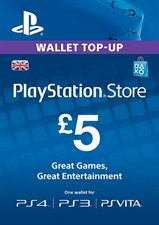 GBP 5 PSN CARD (UK)